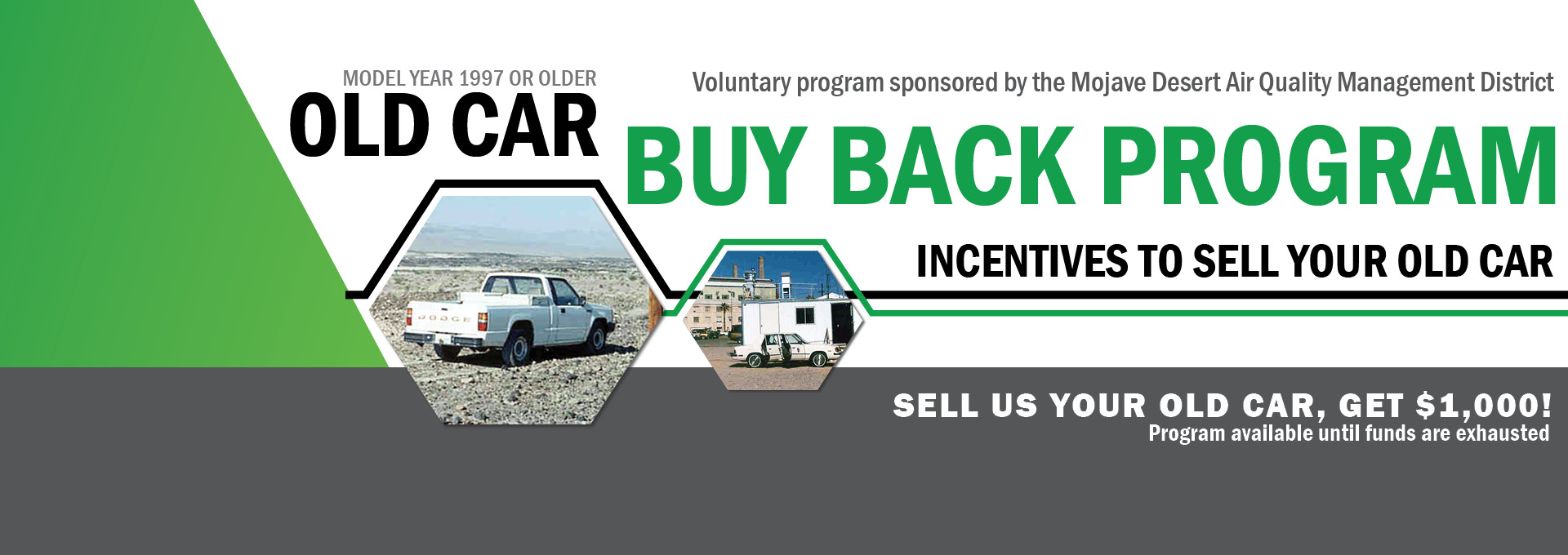 2018 Old Car Buy Back Banner - COLLAGE
